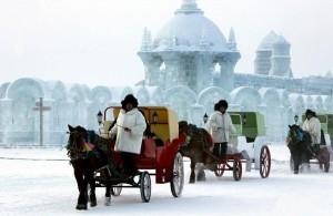 太陽島氷雪祭り