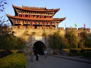 大理古城北門