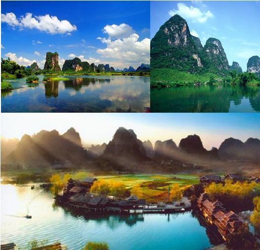 桂林集合写真