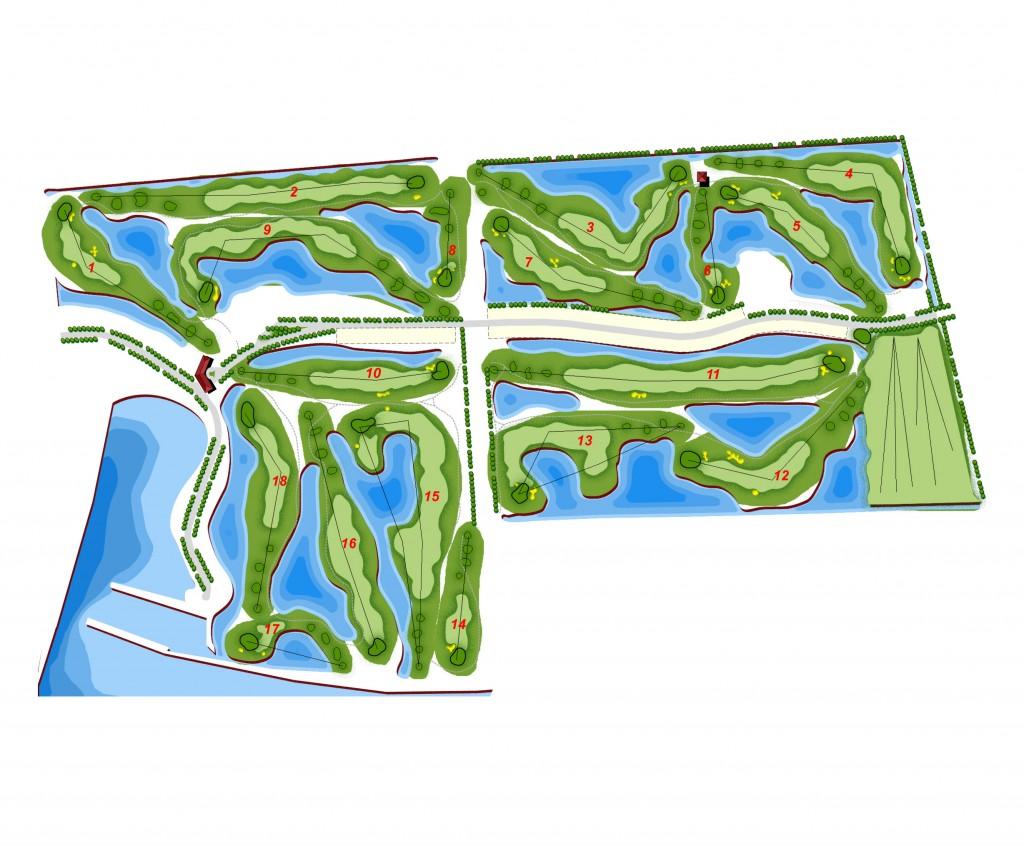 上海18洞平面图2